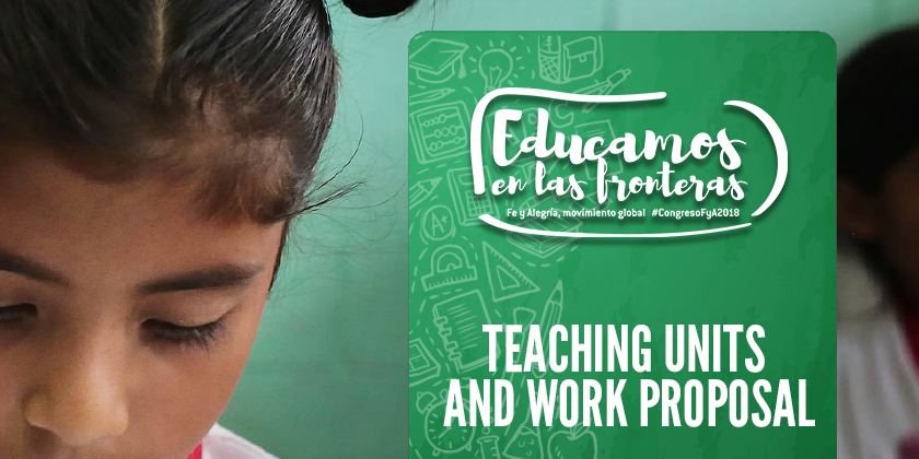 Teaching units and work proposal
