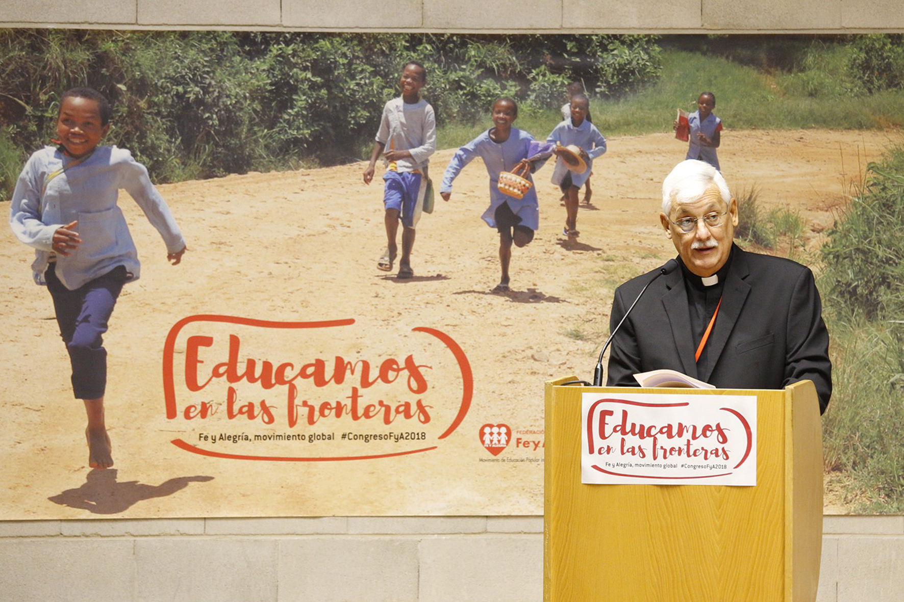 El Padre General Arturo Sosa SJ inaugura el 47 Congreso Internacional de Fe y Alegría