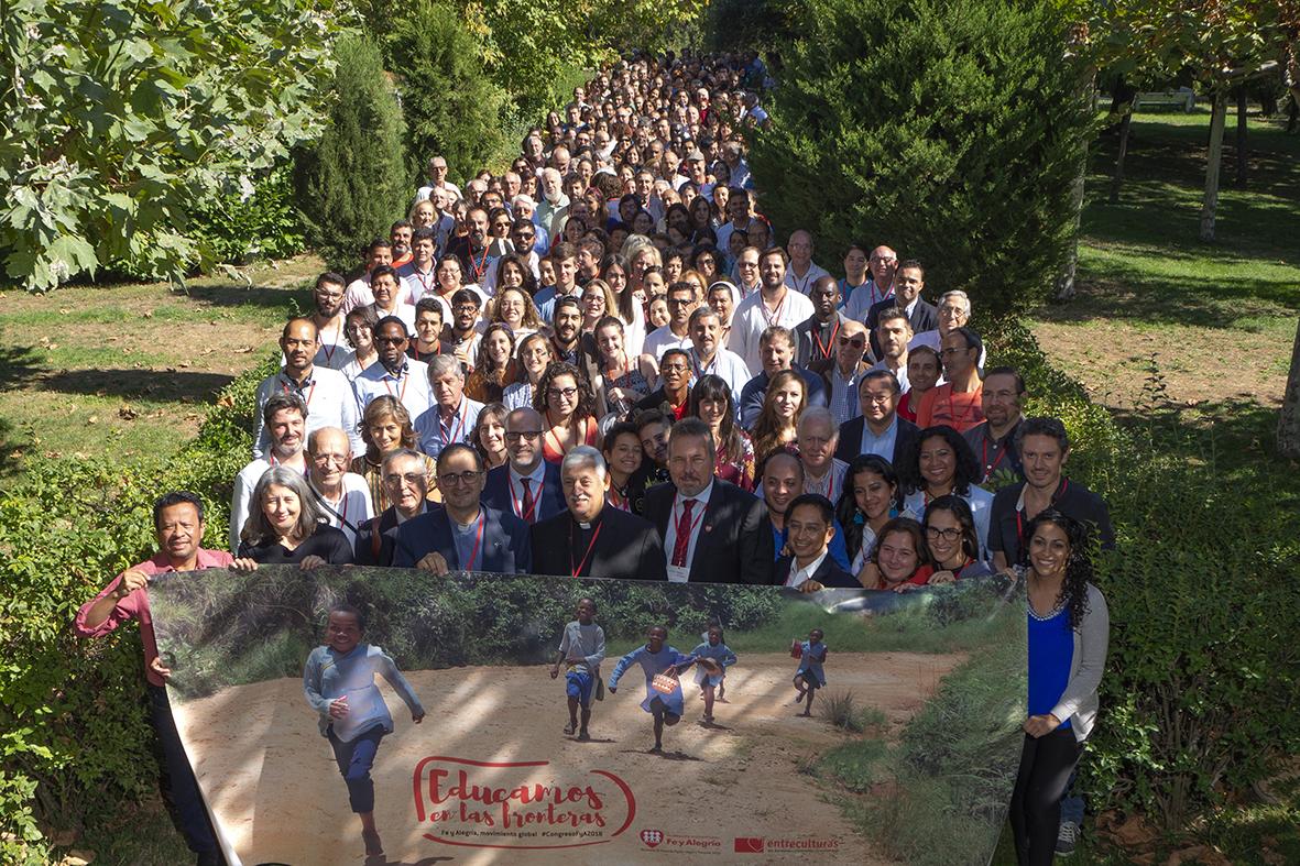 España acoge el XLVII Congreso de la Federación Internacional Fe y Alegría