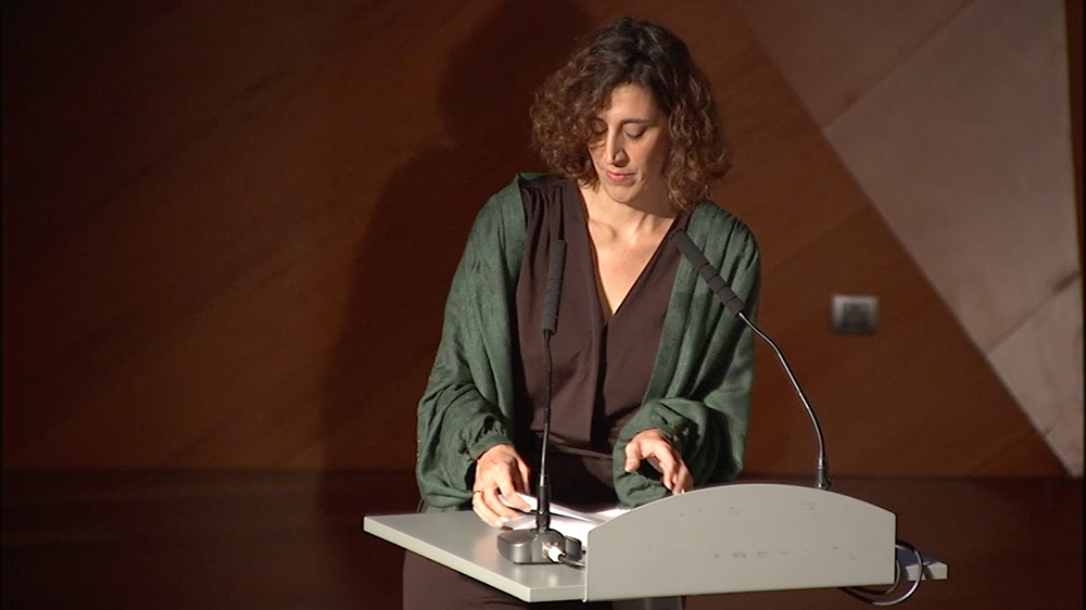 Discurso de Irene Ortega. Cierre del Acto Institucional, 1 de octubre de 2018