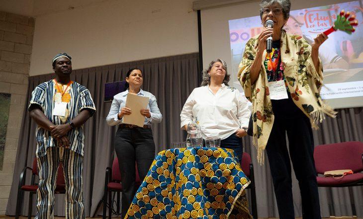 Mesa redonda: Fe y Alegría como movimiento global. Domingo 30 de septiembre de 2018